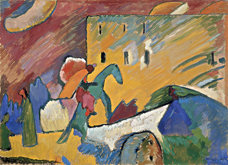Image of Kandinsky's Improvisation III oil on canvas