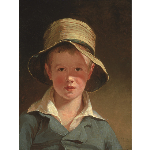 Painting: Thomas Sully, The Torn Hat