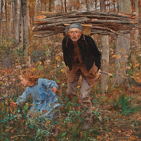 Image of the Woodgatherer oil on canvas